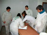 Alumnos de Vía Argentea, Zarza de GRanadilla