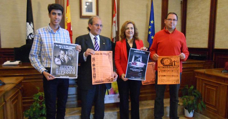 Concejales presentan carteles y programa de fiestas