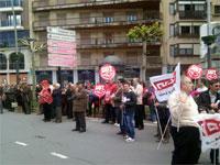 Manifestación Primero de Mayo en Béjar