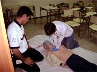 Curso de soporte vital básico, protección civil Béjar