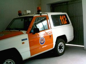 Vehiculo Protección Civil Béjar