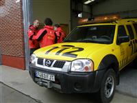 Vehiculo Protección Civil JCyL