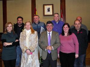 Miembros del equipode gobierno, alcalde, yresponsables de protección Civil