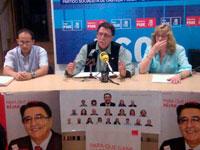 PSOE Béjar, Rueda de Prensa