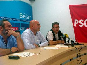 Rueda de Prensa del PSOE Béjar