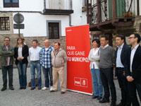 Candidatura PSOE Candelario, Municipales 2011