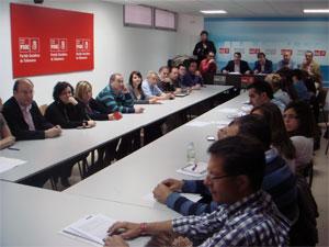 Reunión Ejecutiva PSOE Salamanca