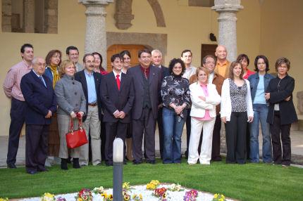 Foto de familia de  socialistas bejaranos