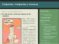 Blog Emigrantes, inmigrantes y viceversa