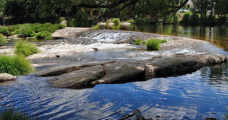 Tramo del rio en Puente Congosto