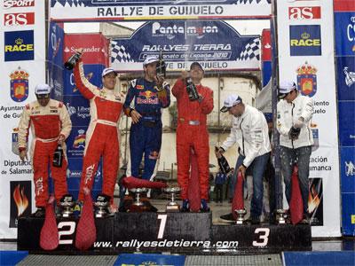 Podium V Rallye de Guijuelo