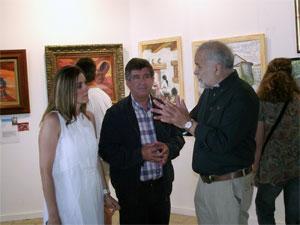 Inauguración exposición en Békjar de Ricardo Martín Vazquez