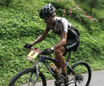 Roberto heras, Ruta de los Conquistadores 2008
