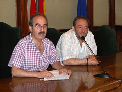 Juan Tomás Sánchez y José Luis Rodriguez Celador