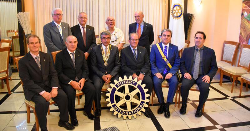 Junta directiva Rotary club de Béjar