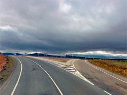 Carretera El Cabaco Tamames