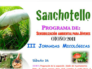 III Jorndas Micológicas Sanchotello