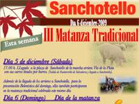 Matanza Tradicional de Sanchotello