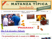 Matanza Tipica, Sanchotello