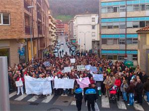 Manifestación Hospital Béjar