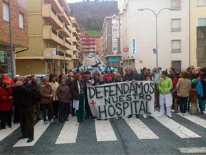Manifestación en defensa del Hospital de Béjar