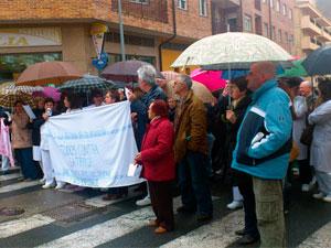 Manifestación Hospital de Béjar