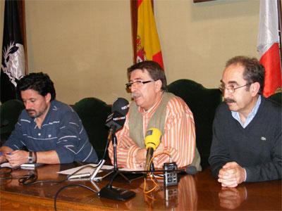 Cipriano González, Juan Tomas Sanchez y Santiago Nieto