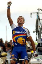 Santi Blanco, victoria en La Covatilla 2002