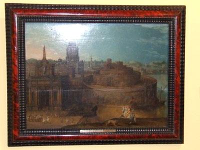 Semíramis ante la ciudad de Babilonia