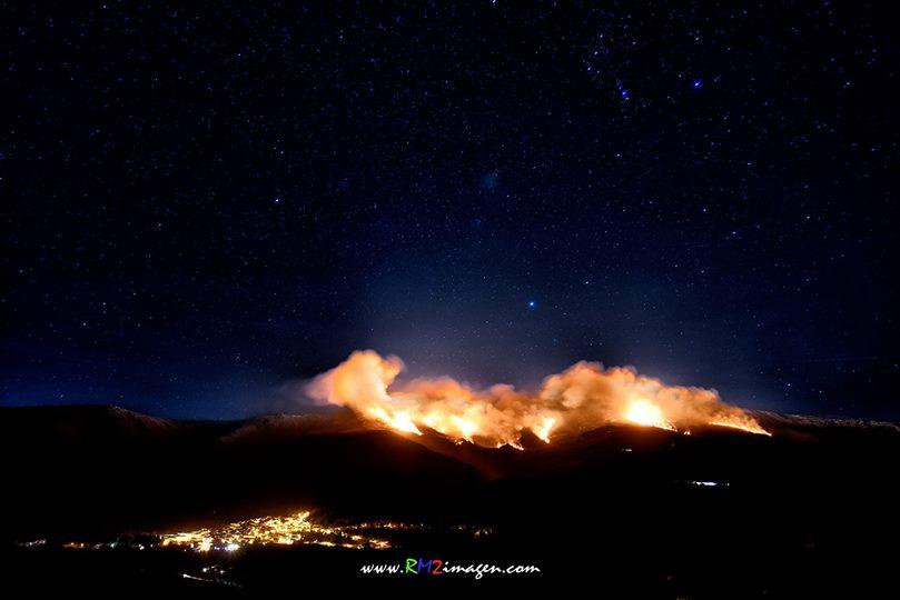 Incendio en la Sierra de Béjar (Foto RM2)