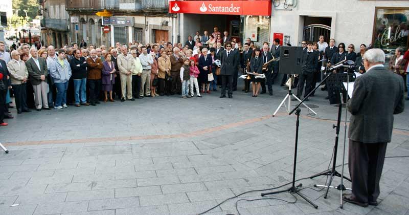 Archivo , imagen de uno de lso actos organizados por el PSOE por los mártires de la Libertad
