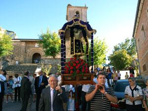 Procesión del Cristo de Valvanera, Sorihuela