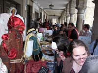 Mercadillo solidario en Béjar