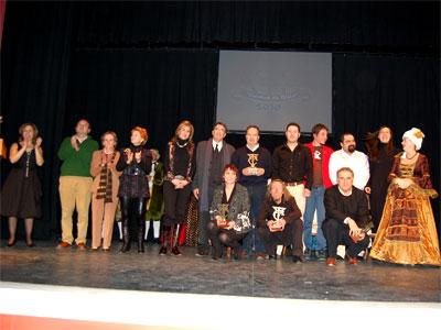 Galardonados XIII Certamen de Teatro para aficionados Ciudad de Béjar