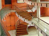 Escaleras interiores Teatro Cervantes, Béjar
