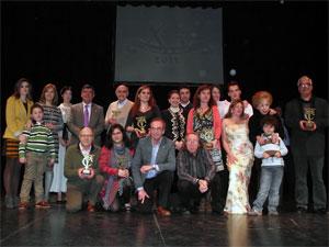Premiados en el Certamen de Teatro Ciudad de Béjar. Teatro Cervantes