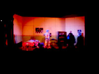 Representación de la obra de Teatro Un Mundo Fantastico