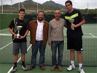 """Entrega de premios, VII Open de Tenis """"Ferias de Mayo"""", Béjar 2009"""