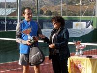 Javier Martín ganador VI Open de Tenis Béjar