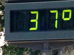 Termometro en Salamanca