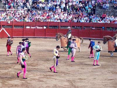Corrida de Toros, Béjar  8 Septiembre de 2010