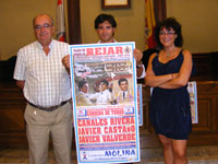 Presentación cartel Corrida de Toros Septiembre 2010, Béjar