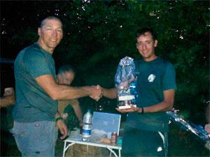 Entrega de premios Trofeo Pesca Mosca Ferias Bçejar 2011