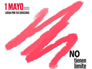 logotipo  del 1 de mayo