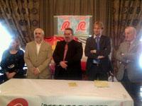 Félix Valle en la presentación de la canidatura de Unidad Regionalista en Béjar