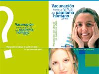Campaña vacunación Papiloma humano