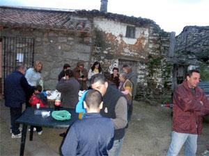 Calbotada popular en Valbuena, Aldeacipreste