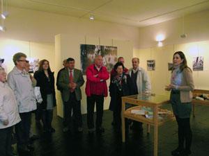 Inauguración exposición Valeriano Salas