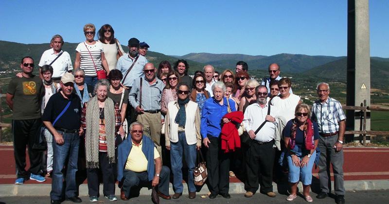 Comitiva de viajeros del Museo Judio