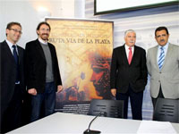 Presentación Vias Romanas en Europa. Merida 2009